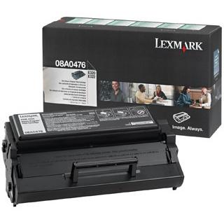 Náplně do Lexmark E322, toner pro Lexmark 08A0476 černý