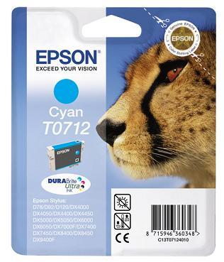 Epson T0712 azurová (5,5ml) originál AKCE !!!