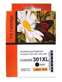 Kompatibilní HP 301XL černá, HP CH563EE (960 stran)