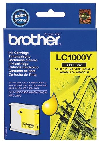 Brother LC-1000Y žlutá