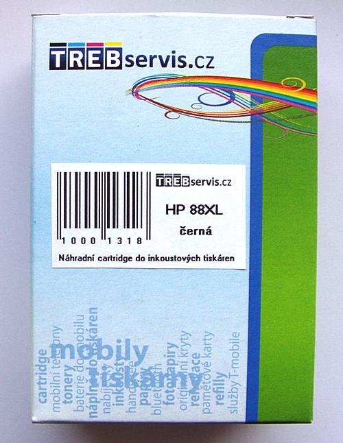 Kompatibilní HP 88XL černá, HP C9396AE