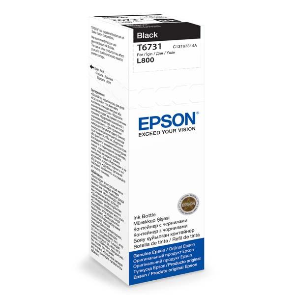 Náplně do Epson Photo Inkjet L800, originální cartridge pro Epson černá