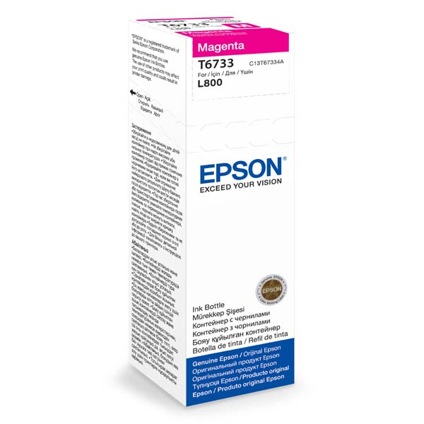Náplně do Epson Photo Inkjet L800, originální cartridge pro Epson purpurová