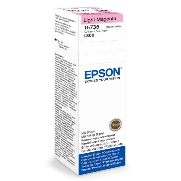 Náplně do Epson Photo Inkjet L800, originální cartridge pro Epson světle purpurová