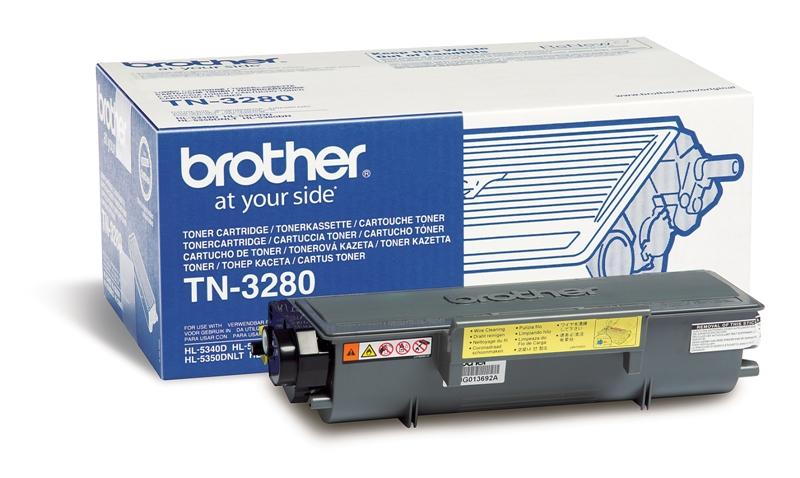 Náplně do Brother HL-5340D, toner pro Brother černý