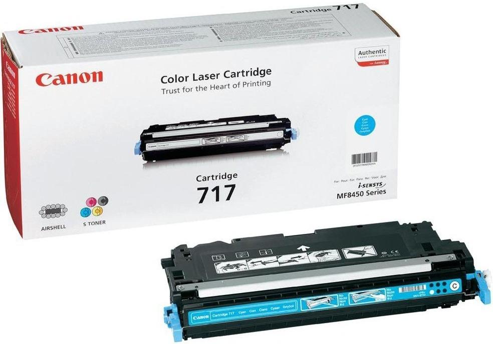 Náplně do Canon i-SENSYS MF8450, toner pro Canon azurový
