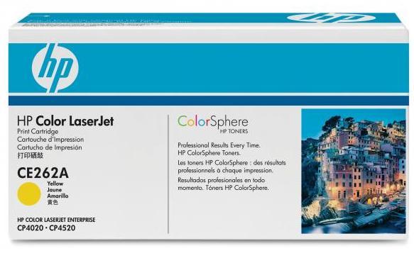 Náplně do HP Color LaserJet Enterprise CP4525, toner pro HP žlutý