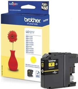 Náplně do Brother DCP-J132W, cartridge pro Brother žlutá