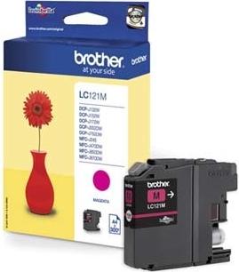 Náplně do Brother DCP-J132W, cartridge pro Brother purpurová
