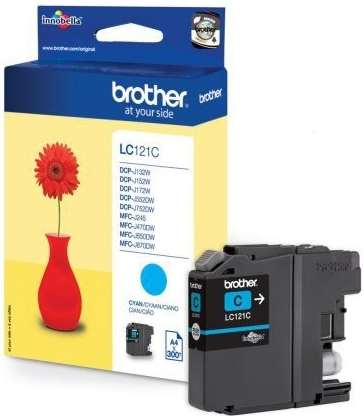Náplně do Brother DCP-J132W, cartridge pro Brother azurová