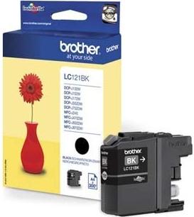 Náplně do Brother DCP-J132W, cartridge pro Brother černá