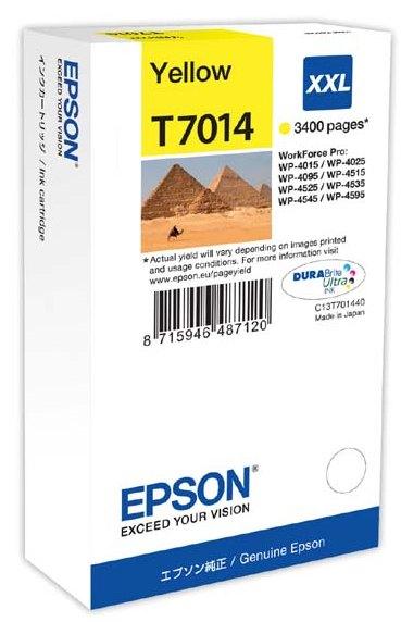 Náplně do Epson WorkForce Pro WP-4015 DN, originální cartridge pro Epson žlutá