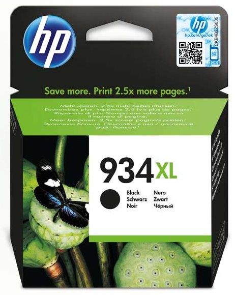 Náplně do HP Officejet Pro 6830, víceobjemová cartridge pro HP černá
