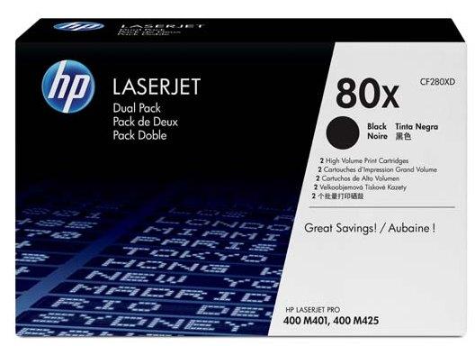 Náplně do HP LaserJet Pro 400 M425, sada tonerů pro HP