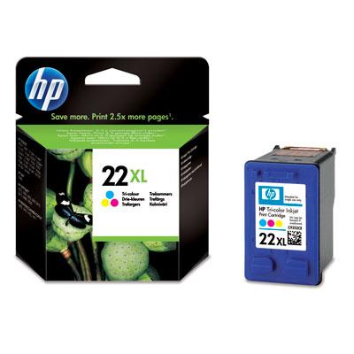 Náplně do HP Deskjet D1341, cartridge pro HP barevná