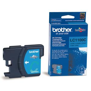Náplně do Brother DCP-185C, cartridge pro Brother azurová