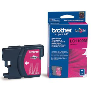 Náplně do Brother DCP-185C, cartridge pro Brother purpurová