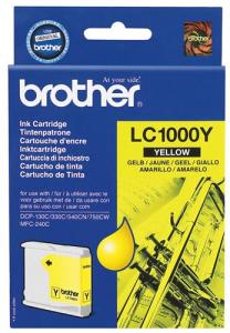 Náplně do Brother DCP-330, cartridge pro Brother žlutá