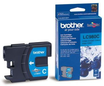 Náplně do Brother DCP-195C, cartridge pro Brother azurová