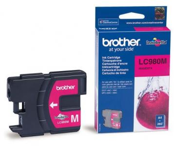 Náplně do Brother DCP-195C, cartridge pro Brother purpurová